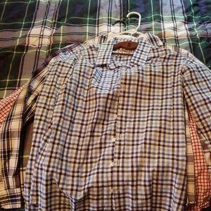 3 express button up shirts